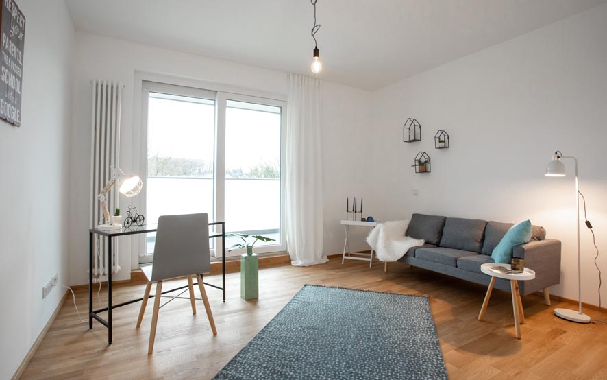 Immobilienfotografie mit Homestaging in Rösrath