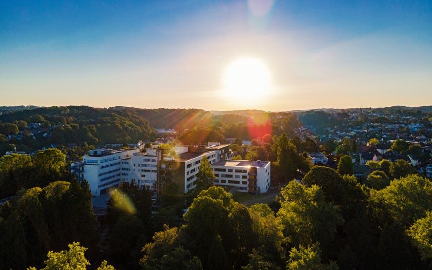 Luftbildaufnahme EVK Bergisch Gladbach